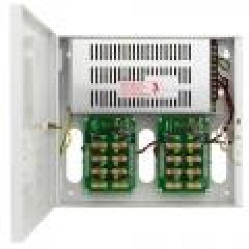 Strømskab 16 udgange, 12v DC, 16A