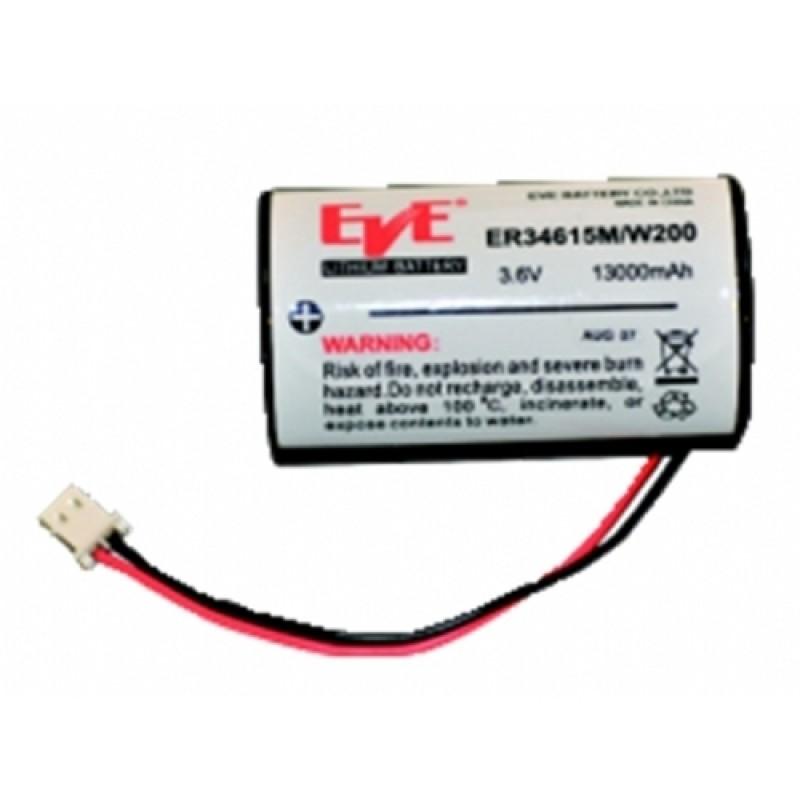 Lithium Batteri 3,6V / 1300 mAh.