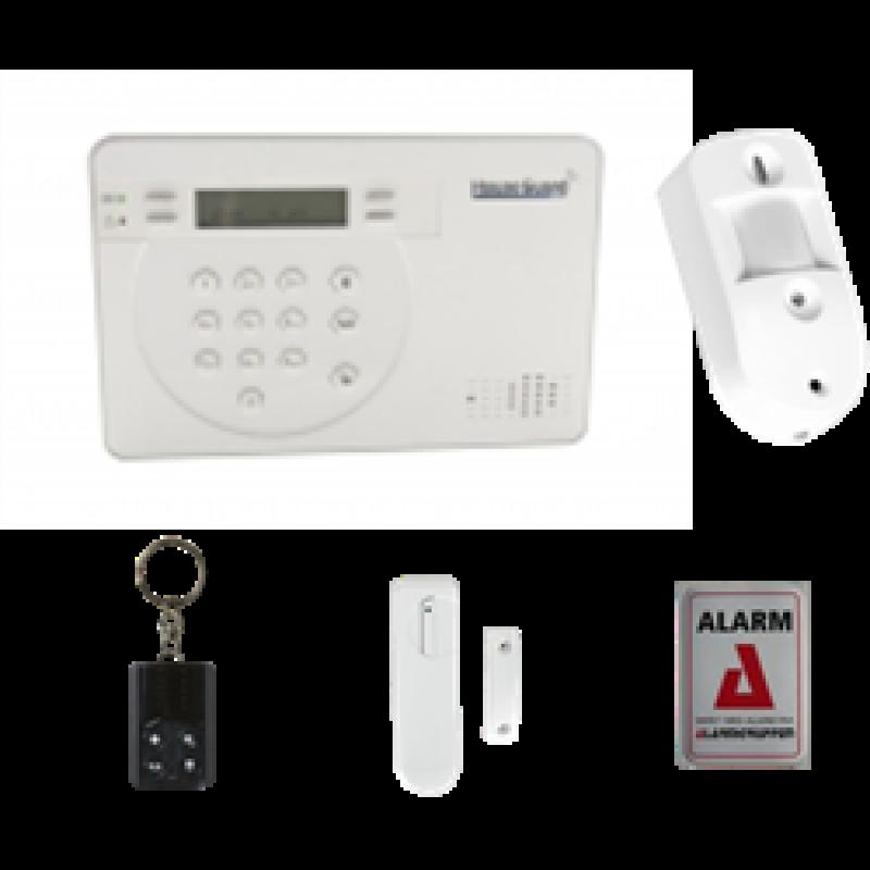 TrueGuard Pro+ GSM-alarmpakke Med CamPir