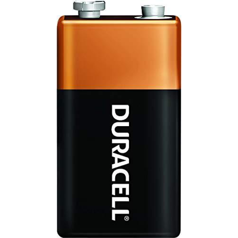 Batteri Alkaline 9 Volt.
