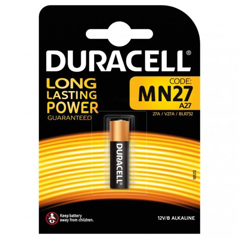 Batteri Alkaline 12V 27A/MN27