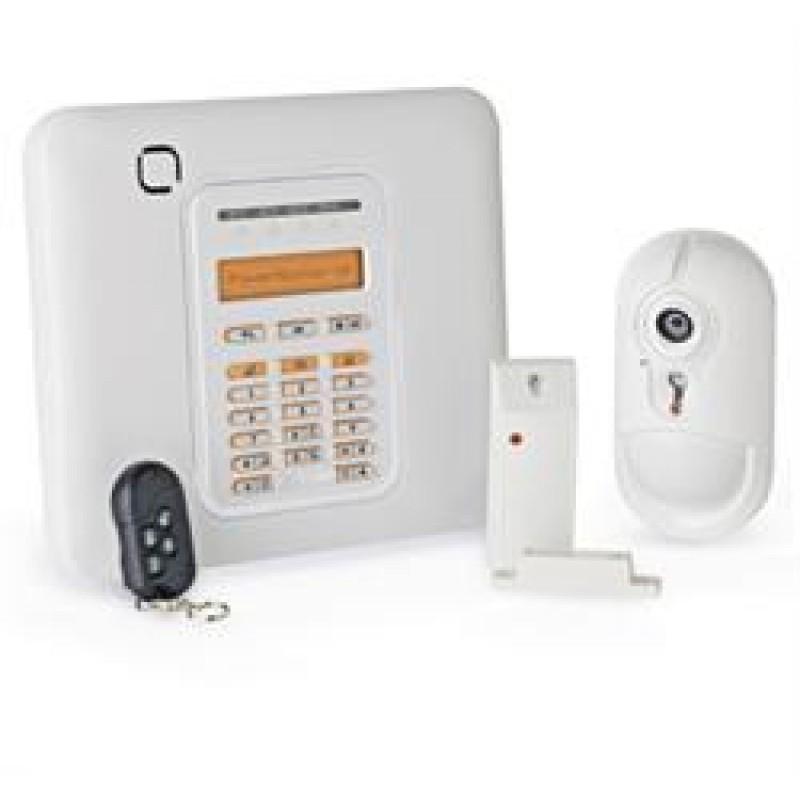 Powermaster GSM pakke med foto PIR