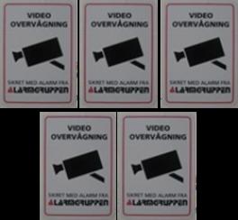 Videoovervgningskiltselvklbende5stkpakke-20