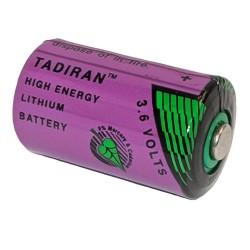 Batteri Lithium 3,6 Volt 1/2AA